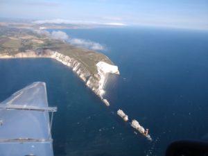 Die NEEDLES an der Isle of Wight