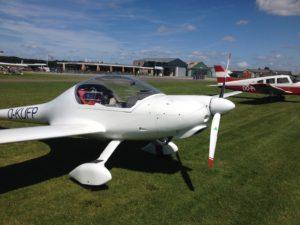 Besuch in Old Sarum - Flugplatz bei Salisbury