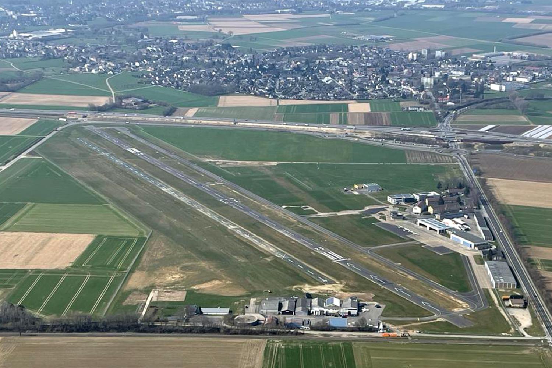 Aachen Merzbrück im April 2021